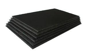 Platy 6x Schieferplatten 25x30cm Set Imprägniert Servierplatte Untersetzer