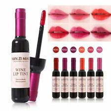 Waterproof Wine Bottle Lipstick Shaped Lip Tint Long Lasting Liquid Lip Gloss