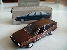 Schabak Modell Audi 100 Avant (Type 44) in Brown in box on 1:43