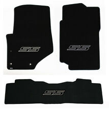 NEW! 2007-2009 Trailblazer Floor Mats Black Carpet Embroidered SS Logo on all 3