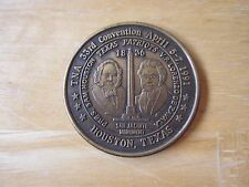 TNA Texas Numismatic Association 33rd Convention MEDAL, Houston, TX 1991