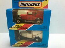 Matchbox 1/64th Chesty Bonds MB38 Ford Model a Limited Edition 1981