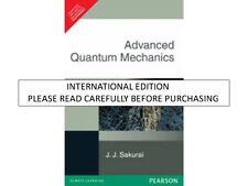 Advanced Quantum Mechanics by J.J. Sakurai