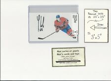Yannick Weber Montreal Canadiens AUTOGRAPH AUTO INDEX HOCKEY CARD 100% COA