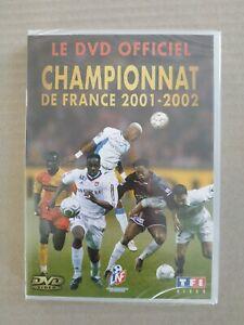 DVD football Championnat de France 2001 2002 neuf rare t3