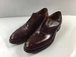 Hartt Custom Grade Oxford Brown Men's Shoes Size 10