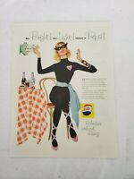 Pepsi Cola Vintage Print Ad  Saturday Evening Post Advertising Soda