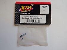 XTM Racing Parts - Set Screw 3x3 Lock Glue (5 pcs) - Model # 148566 - Box 2
