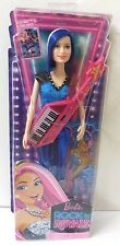 "Barbie Rock N' Royals Pop Star 11"" Doll With Blue Hair Mattel"