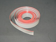 "10 FT 16 PINS CONDUCTORS GREY FLAT RIBBON CABLE 28AWG .05"" /1.27mm PITCH S/FREE"