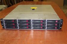 HP StorageWorks D2600 Disk Enclosure AJ940A w/ 12X 2TB Hard Drive Disk