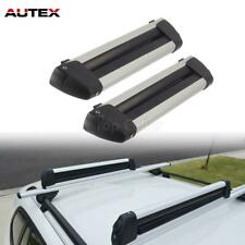 2Pcs/Set 22'' Aluminum Universal Ski Snowboard Carrier Roof Rack
