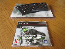 Splinter Cell Blacklist – PS3 PROMO Set (Full Game & Bullet Ice Cube Tray) ~ NEW