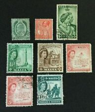 MALTA, 1904/11 to 1956, selection of used stamps.