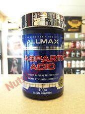100% Pure D Aspartic Acid DAA 100g Boost Natural Test ALLMAX Nutrition FREE SHIP