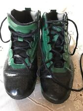 023501 611 Reebok Men's Hi Top Shoes Size 7 Green/black Zig Tech