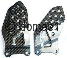 Suzuki GSX-R 600 750 carbon fiber heel guards 2004-2005 K4 K5 plates protectors