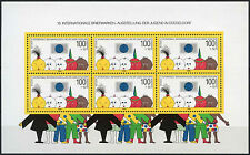 West Germany 1990 SG#MS2321 Youth Philatelic Exhibition M/S Cat £27 #D324