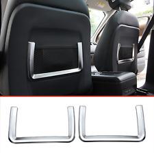 Range Rover Evoque 2012-2017 Back seat silver chrome Frame Cover Trim set