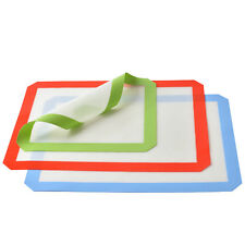 3 Silicone Baking Mats Non Stick Heat Resistant Liner Sheet 2 large 1S