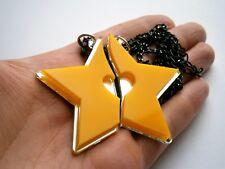 Kingdom Hearts Friendship Yellow Star Necklaces Paopu Fruit