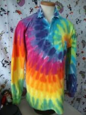 MAXMORE made in South Africa Tie Dye colorful Rugby Shirt