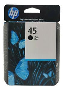 HP 45 Black Printer Ink Cartridge 51645A