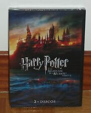 HARRY POTTER AND THE HALLOWS DE LA MUERTE-PARTES 1 AND 2 SEALED NEW 2 DVD R2