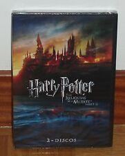 HARRY POTTER Y LAS RELIQUIAS DE LA MUERTE-PARTES 1 Y 2-PRECINTADO-NUEVO-2 DVD