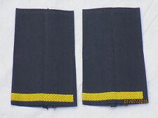Marine rango cinghie: superiore guardiamarina per mare, oro/blu