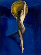 The Enchantress : Rolf Armstrong  :  PINUP Art Print Suitable for Framing