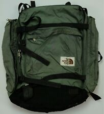 Rare Vintage THE NORTH FACE Spell Out Tactical Hiking Hard Backpack 80s 90s USA