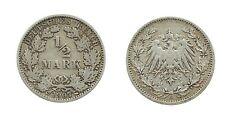 1/2 Mark 1907 G - Silber - Original Münze
