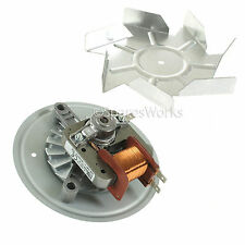 Zanussi Oven Cooker Fan & Motor Unit - FITS OVER 90 MODELS