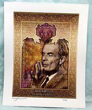 "Gwyllm Llwydd Blotter Art  ""Aldous Huxley"" The Doors of Perception  S/N L/E"
