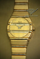 Piaget Polo 18k Yellow Gold Ladies 23mm Quartz Watch 861 C701