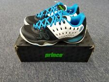 Men's Prince T22 Tennis Shoes White/Black/Blue Size 7.5 BRAND NEW