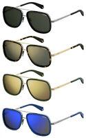 370b98754d1d Polaroid PLD6033S Unisex Aviator   Rectangular sunglasses w  Polarized  Choose