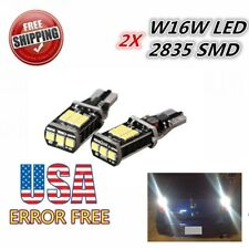 US 2X T15 T10 Canbus Backup Reverse LEDs Lights 15SMD Bulbs for 10-12 Mustang GT