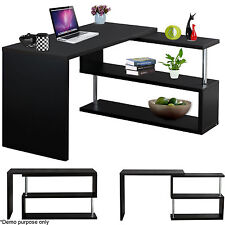 Home Office Desk Computer PC Laptop Writing Table L-shape WorkStation Furniture
