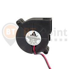 Radial Lüfter 50mm 15mm 12V 0.06A Fan Blow Cooler 3D Drucker Printer Hotend 5015