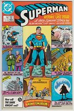 Superman #423 And Action Comics #583 Whatever Happened To The Man Of Tomorrow!
