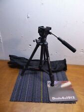 OPEN BOX Magnus VT-100 Tripod System with 2-Way Pan Head And Quick Release Plate