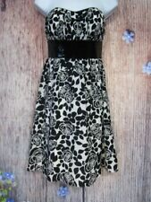White House Black Market Dress Size 4 Cocktail Party Black Sequins Night Out