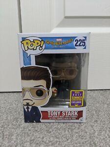 Funko POP Vinyl Tony Stark with Iron Man Helmet 225 Spider-Man Homecoming Marvel