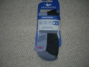 New Sealskinz Quick Dry Walking Socks - S