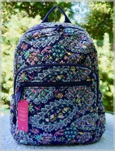 NWT $115 VERA BRADLEY CAMPUS BACKPACK ⚜ FRENCH PAISLEY ⚜ NWT $115