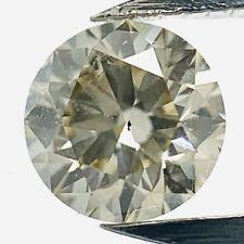 0.30ct Light Champagner SI1 GIA Zertifizierter Brilliant Diamant Brillant