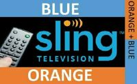 SlingTV | Orange + Blue + Total TV Deal +7 Extras | 1 Year Warranty