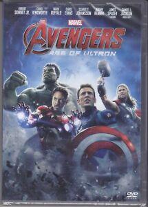 Dvd Marvel AVENGERS 2 - AGE OF ULTRON - Thor Iron Man Hulk Captain America 2015